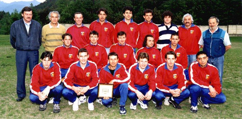 La squadra che vinse il campionato di 2a categoria nel 1997/98